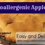 Hypoallergenic Apple Pie Recipe (No dairy, gluten, or nuts)
